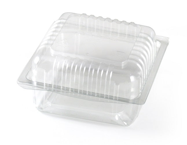 "6"" Roll Bap Sandwich Box (Hinged Lid) - GM Packaging (UK) Ltd"