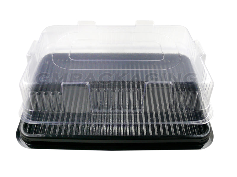 Clear Plastic Lid to fit Small Catering Platters - GM Packaging (UK) Ltd