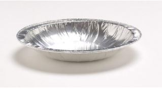 116ml Rolled Edge Saucers Foil Containers - GM Packaging (UK) Ltd