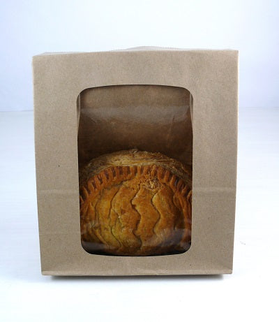 150+75x220mm Brown Paper Sandwich Bags