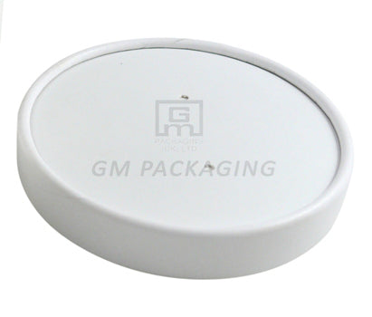 8-16oz Heavy Duty Vented Lids (White) - GM Packaging (UK) Ltd