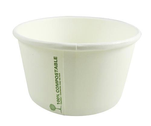 12oz Compostable Soup / Ice Cream Cups - GM Packaging (UK) Ltd