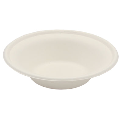 12oz Round Bagasse Bowls - GM Packaging (UK) Ltd