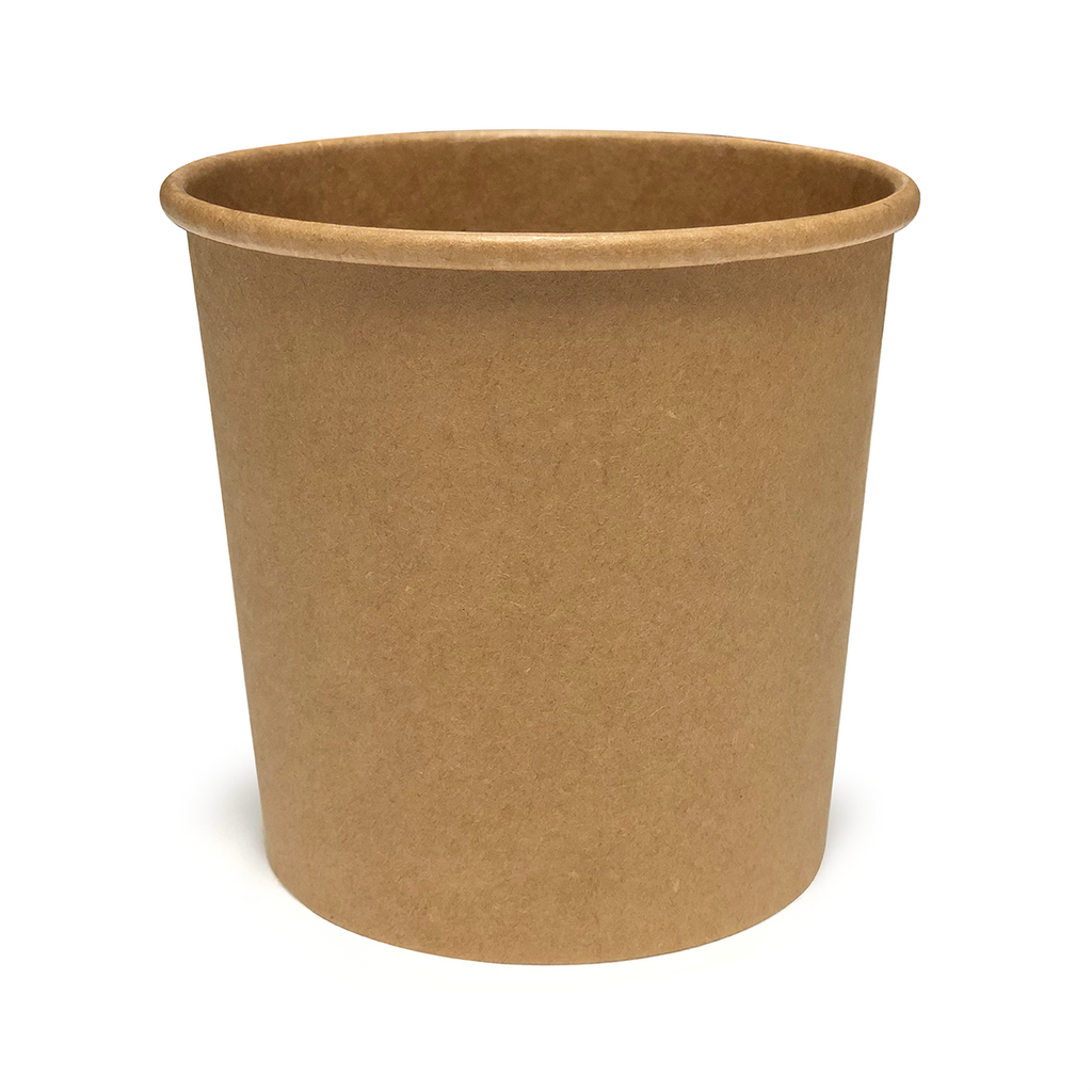 12oz Kraft Soup Tub - GM Packaging (UK) Ltd