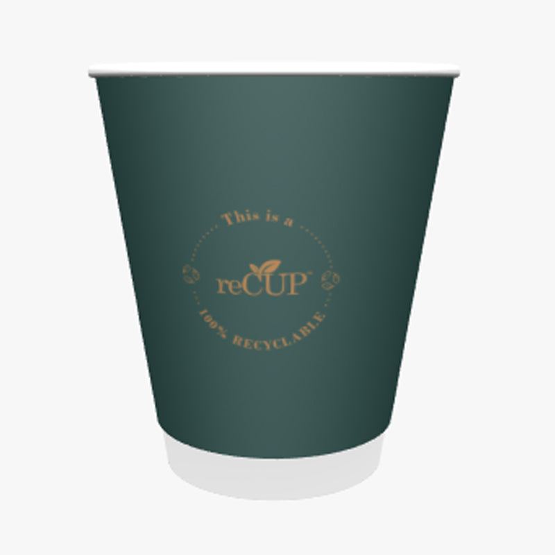 12oz reCups GREEN Coffee Cups - GM Packaging UK Ltd