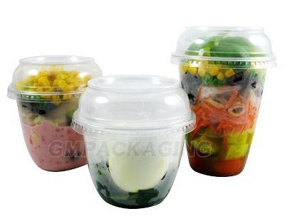 Tall Plastic Deli Pot - GM Packaging UK Ltd