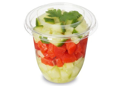 5.5oz (160ml) Plastic Snacking Pots - GM Packaging (UK) Ltd
