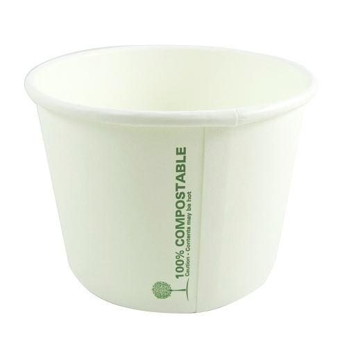 16oz Compostable Soup Cups / Ice Cream Cups - GM Packaging (UK) Ltd