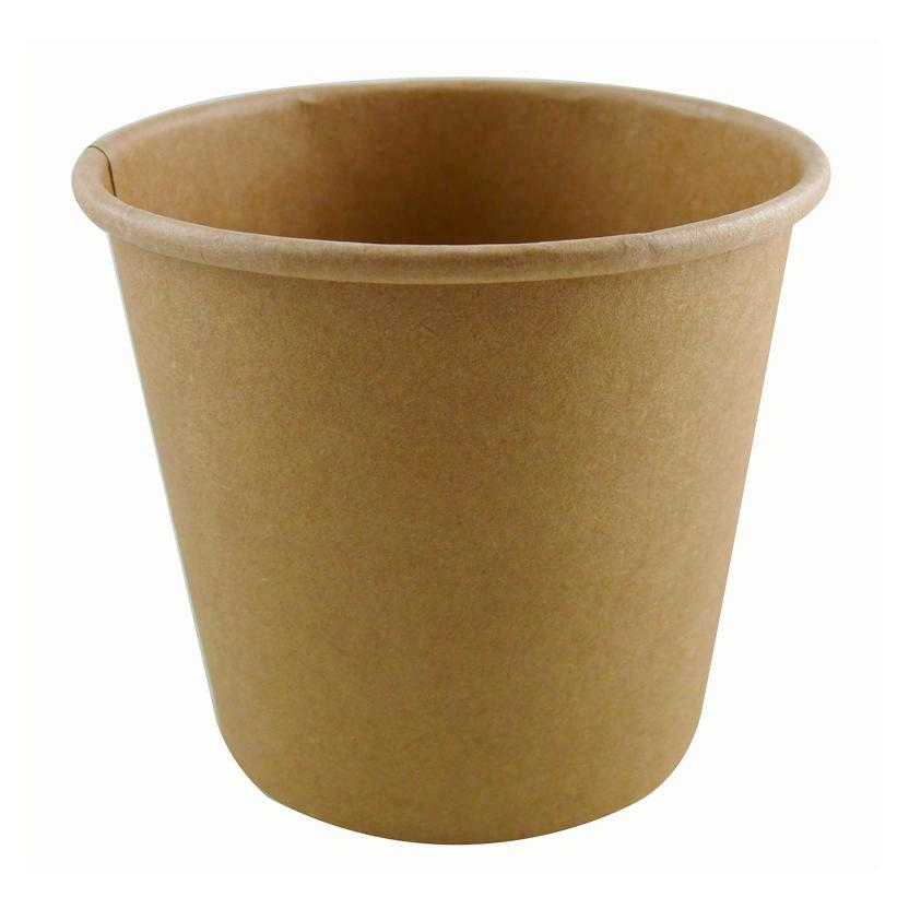 16oz Kraft Soup Container - GM Packaging (UK) Ltd