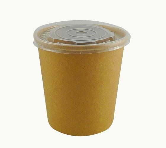 26/32oz PP Transparent Soup Lids - GM Packaging (UK) Ltd