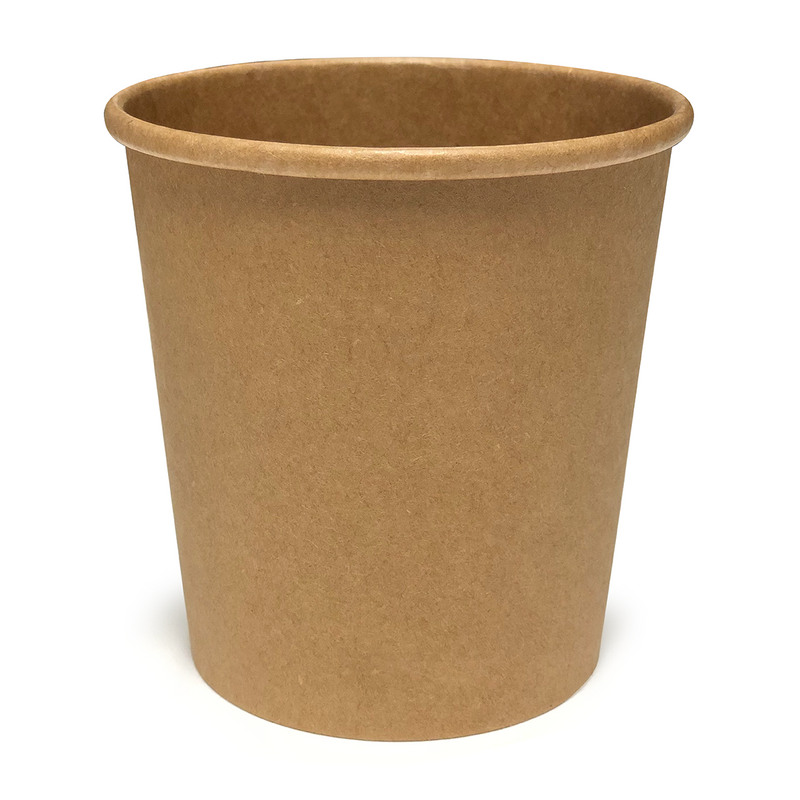 16oz Kraft Soup Tub - GM Packaging (UK) Ltd