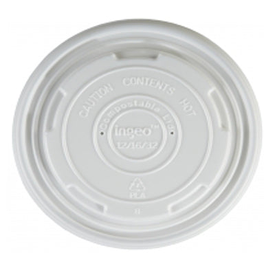 115mm Compostable Soup Lids - GM Packaging (UK) Ltd