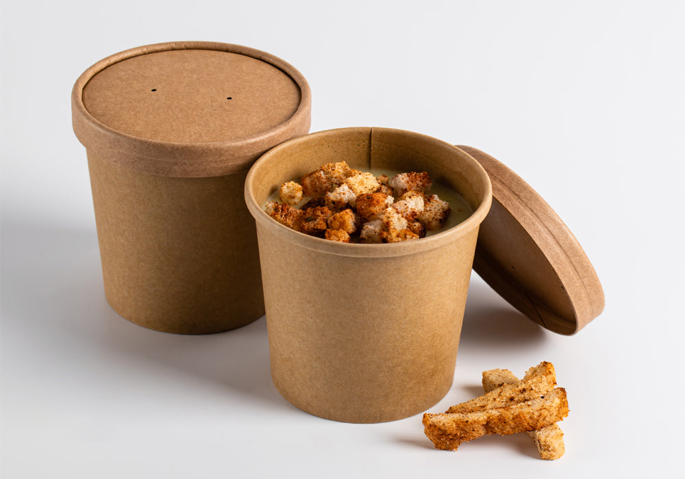 16oz kraft soup tubs - GM Packaging UK Ltd
