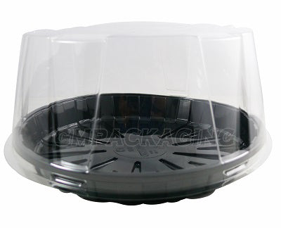 80mm Clear Cake Dome Lid/210s