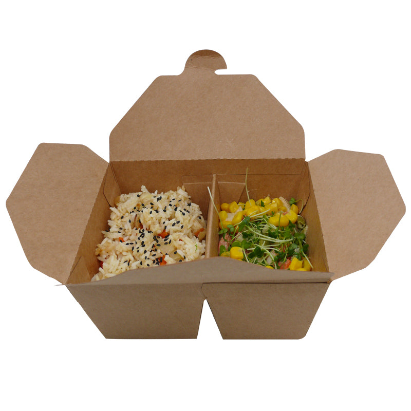 2 compartments take away box - GM Packaging UK Ltd