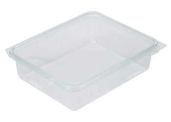 1500cc Rectangular Plastic Salad Container - GM Packaging (UK) Ltd
