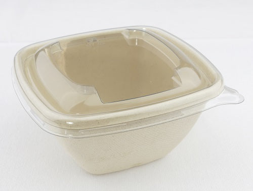 Square Lid to fit 500ml Pulp Bowls/500s