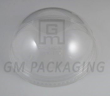 Clear Plastic Dome Lids (without Hole) - GM Packaging (UK) Ltd