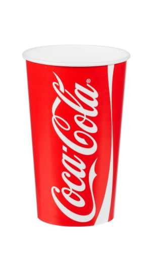16oz  Coca Cola Paper Cups - GM Packaging (UK) Ltd