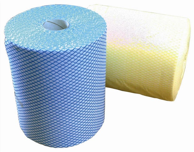 Yellow PRO Multicloth Rolls 24cm x 125m - GM Packaging (UK) Ltd