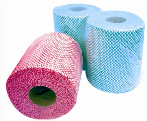 Red PRO Multicloth Rolls 24cm x 125m - GM Packaging (UK) Ltd