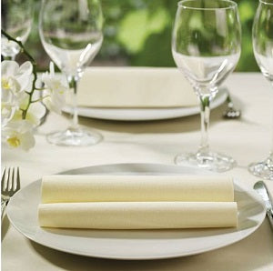 40cm Buttermilk Airlaid Tissue Napkins - GM Packaging (UK) Ltd