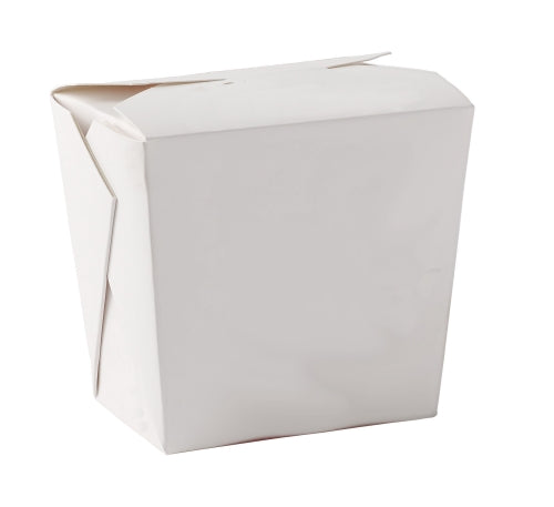 26oz Square Noodle Boxes (White) - GM Packaging (UK) Ltd