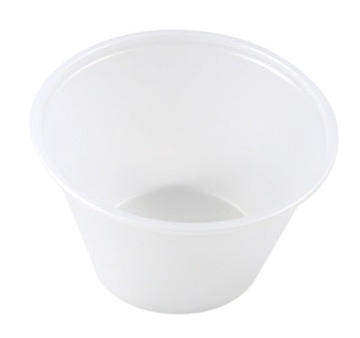 4oz Translucent Round Dip Pots Plastic - GM Packaging (UK) Ltd
