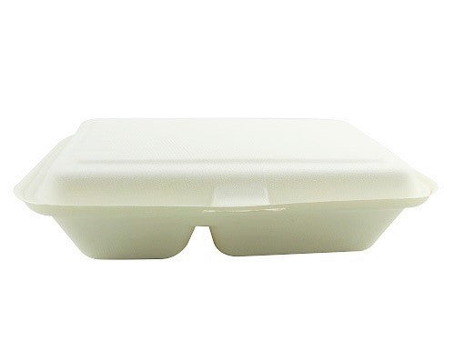 2 Compartment Biodegradable Food Boxes - GM Packaging (UK) Ltd