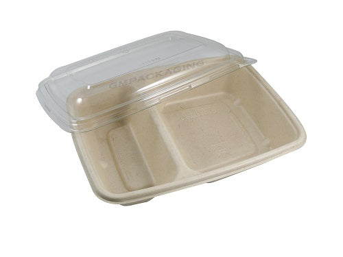 2 compartments hot food containers - GM Packaging UK Ltd