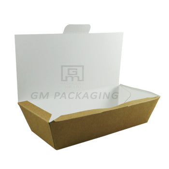 Medium Kraft Food Box - GM Packaging (UK) Ltd