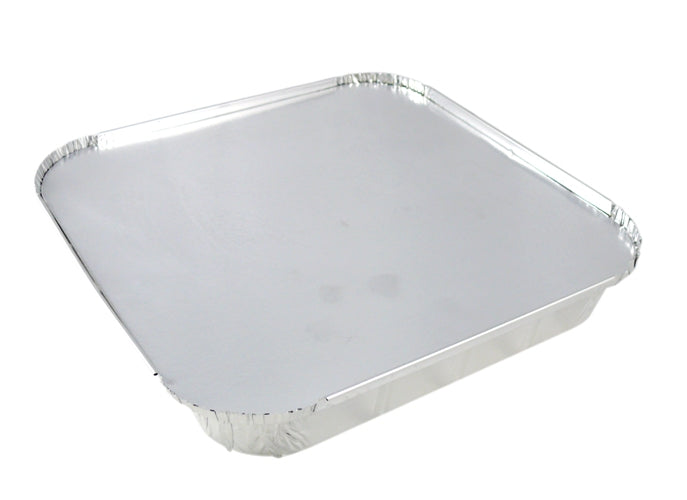 Paper Lids to fit Square Foil Containers - GM Packaging UK Ltd