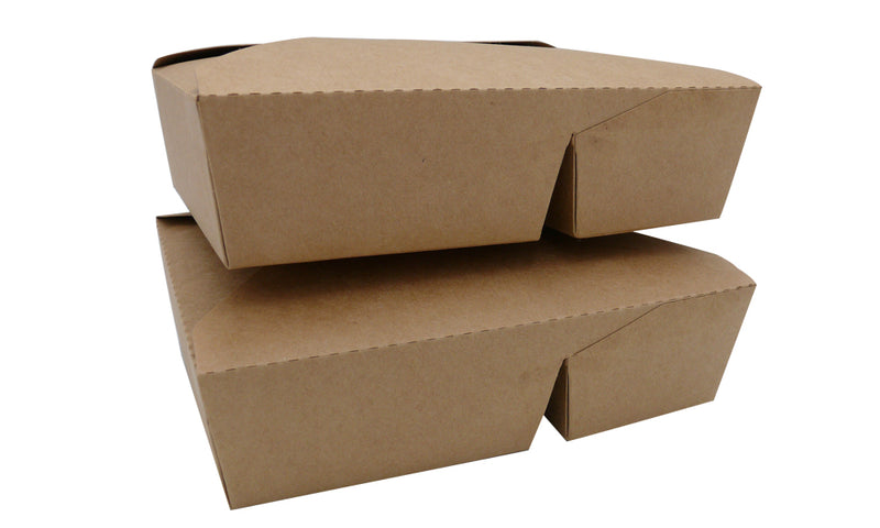 2 compartment take out food boxes - GM Packaging UK Ltd