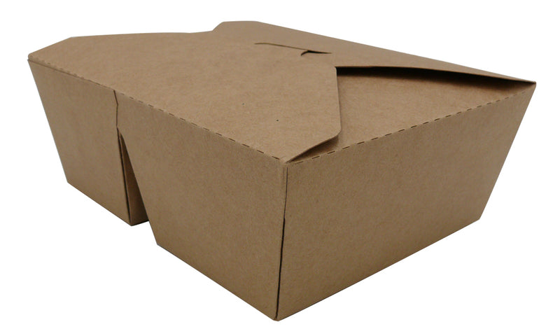 2 compartment kraft take out food box - GM Packaging UK Ltd