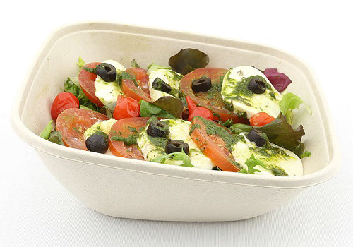 750ml Pulp Square and Slope Bowls - GM Packaging UK Ltd