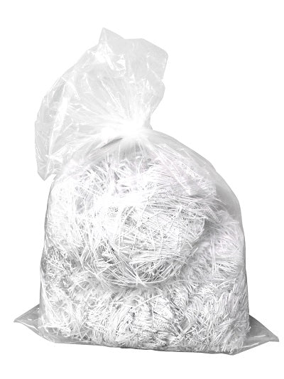 "18 x 29 x 39""  Clear Black Sacks"