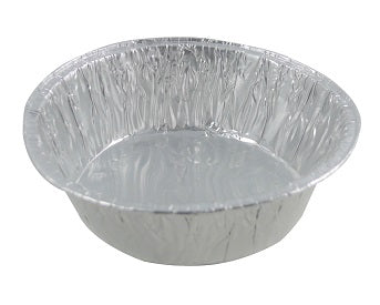 Medium Round Foil Pan Baking Dish - GM Packaging (UK) Ltd