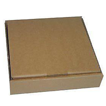 10 inch Plain Brown Pizza Box/100s - GM Packaging (UK) Ltd