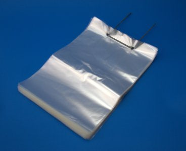 "Plain Heat Seal Bags 8x10"" - GM Packaging (UK) Ltd"