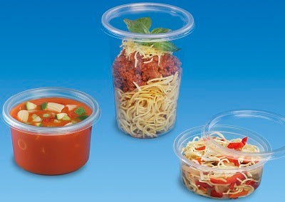 121mm PP Deli Pot Lids - GM Packaging (UK) Ltd