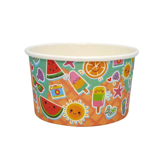 3oz Compostable Ice Cream Tubs/1000s - GM Packaging (UK) Ltd