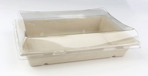 Dome Lid to fit 750ml Pulp Rectangular container/300s
