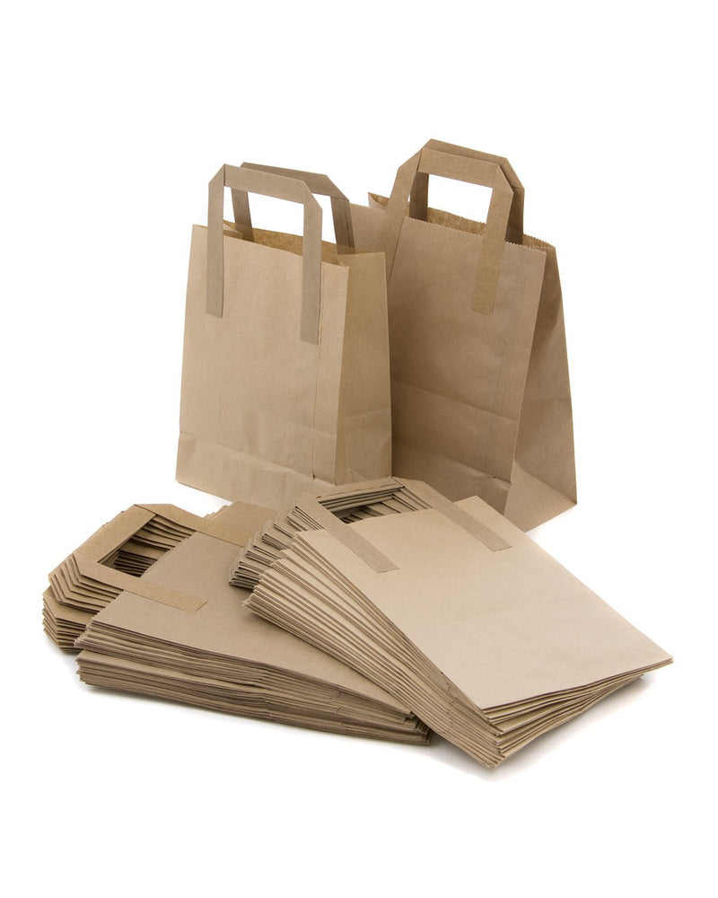 Large Brown Takeaway Bags