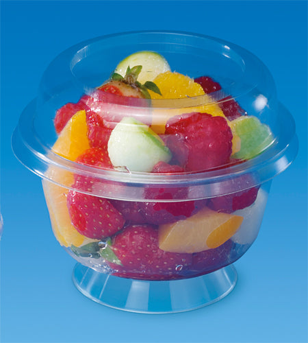 7oz Round Dessert Pots with Lids - GM Packaging (UK) Ltd