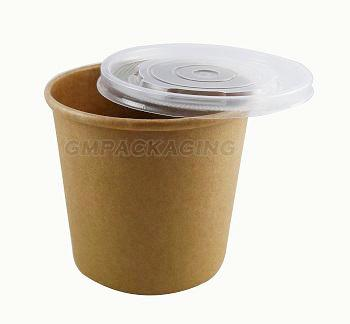 26oz Kraft Soup Containers - GM Packaging (UK) Ltd