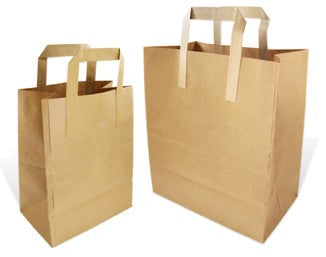 Medium Brown Takeaway Bags