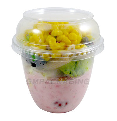 12oz Plastic Snack Pots - GM Packaging (UK) Ltd