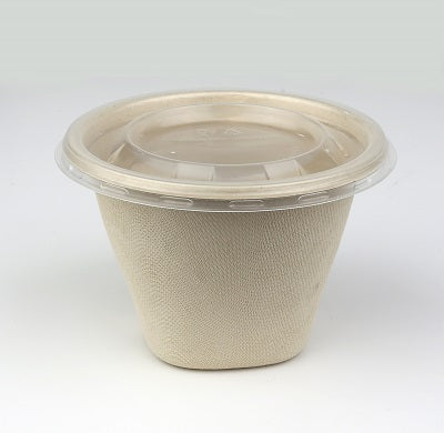 Round PP Lid to fit 500ml Pots/1000s
