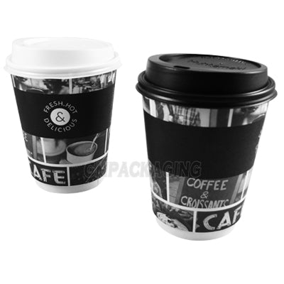 9oz Sorello Coffee Cups/625s