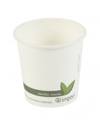 4oz Bio Coffee Cup Single Wall - GM Packaging (UK) Ltd